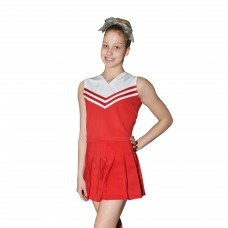 Instock Polyester Classic Cheerleading Uniform Set