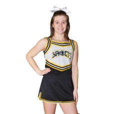 Custom Made Ladies Cheerleading Uniform Set